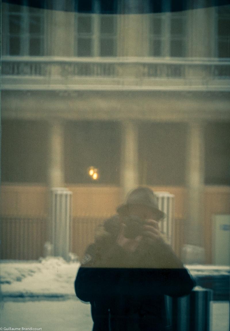 Non-autoportrait en neige, 19 janvier 2013