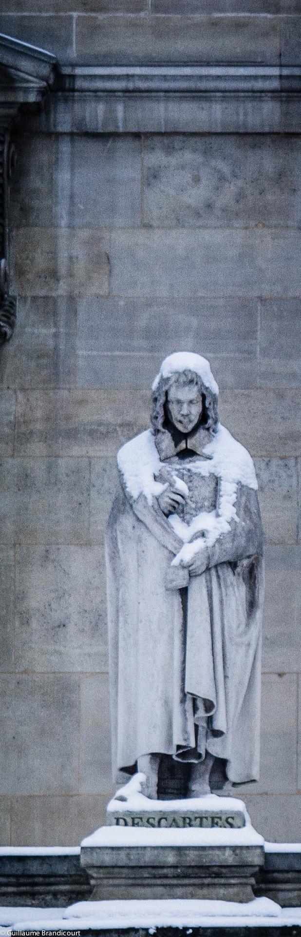 Louvre sous la neige, 19 janvier 2013