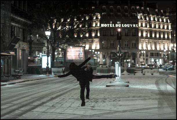 Avenue de l'Opéra, 12 mars 2013