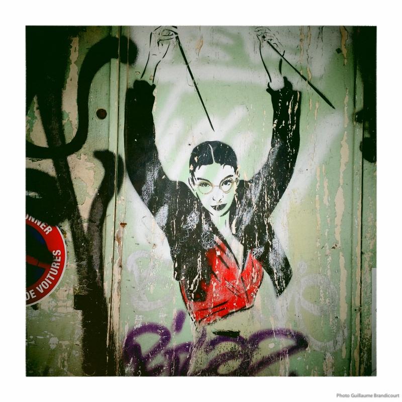 Miss-Tic @ Arles, août 2013