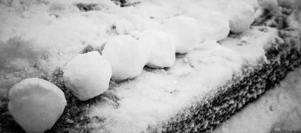 Munition, Boule de neige, Ile Saint Louis, 20 janvier 2013