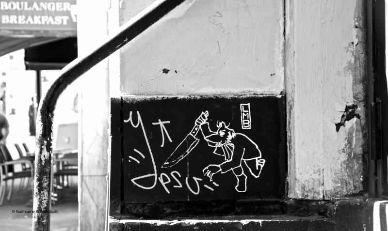 """""""Le dauphin a vu la scène du crime avant le petit déjeuner"""" Photo GB"""