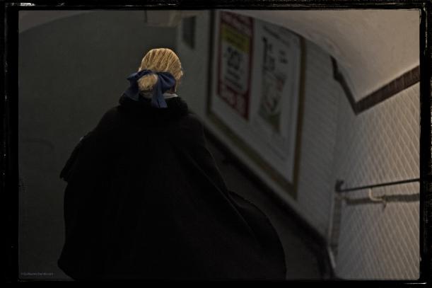 La fantôme du métro