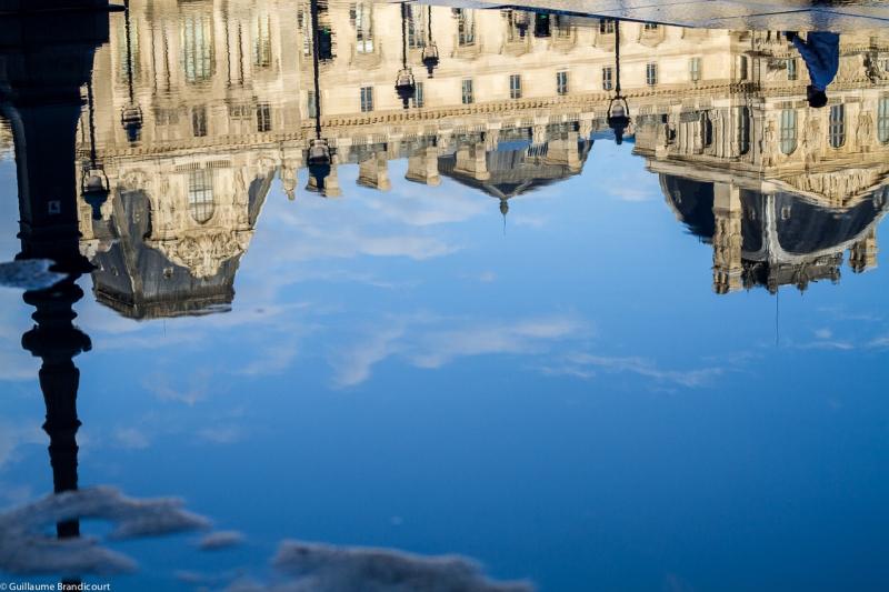 Le Louvre, 1er janvier 2013
