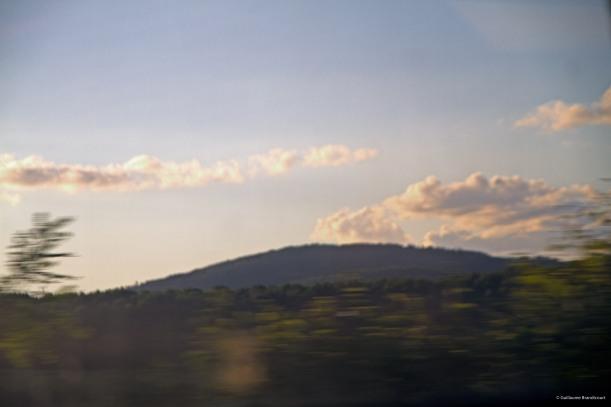 Paysage au train rapide, 19 août 2013