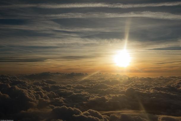 Sunset, quelque part dans le ciel, 15 septembre 2013 Sunset, quelque part dans le ciel, 15 septembre 2013