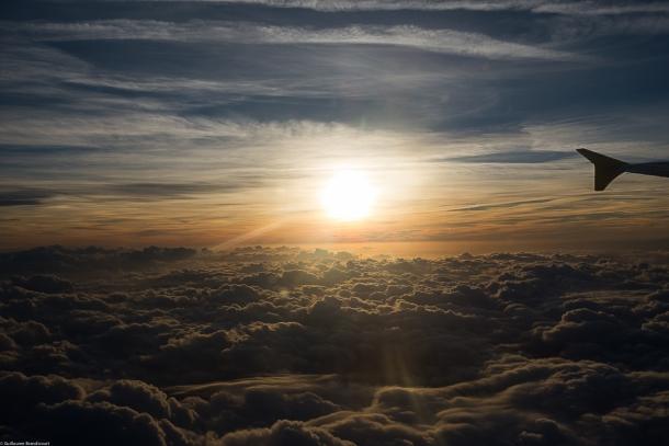 Sunset, quelque part dans le ciel, 15 septembre 2013