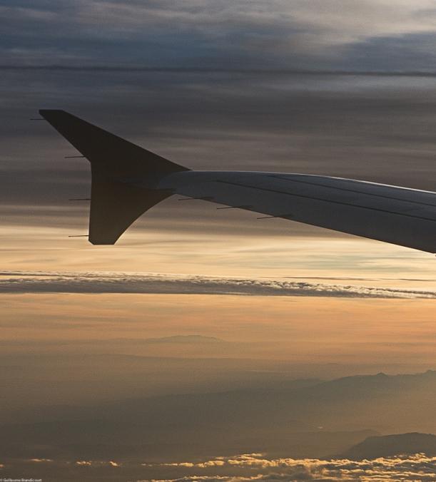 Le dauphin du ciel au couchant des montagnes, 15 septembre 2013