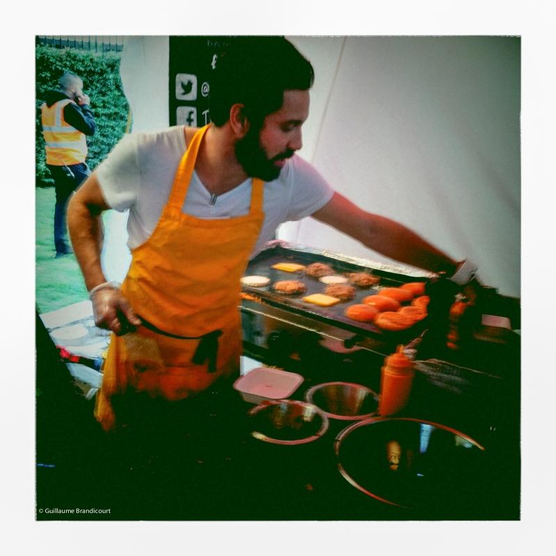 Festival Languedoc Roussillon in London ! Burger Confis de canard et cantal... !, @ London, august 31st, 2013