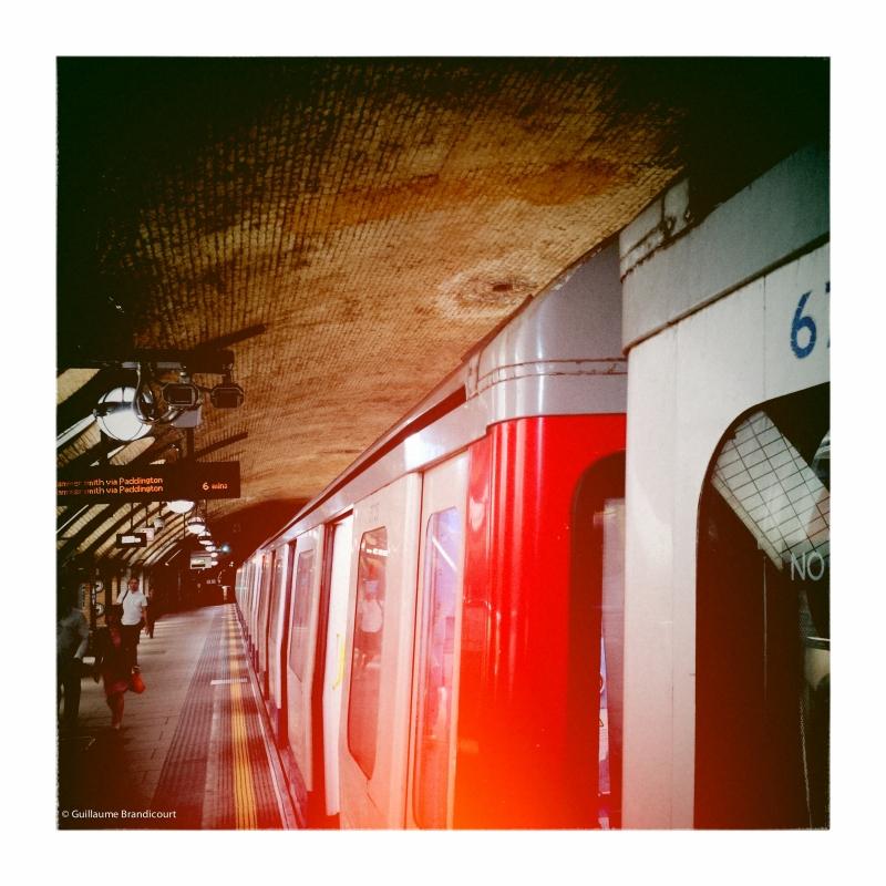 @ Baker Street Station @ London, august 31st, 2013