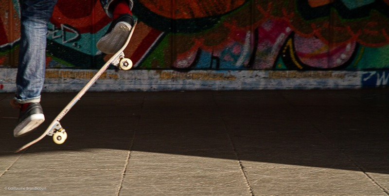 @ South bank's Skate Park, London, august, 31st, 2013