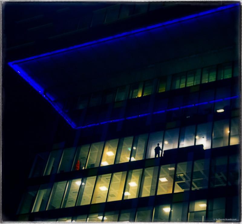 The nightwatcher, London, August, 31st, 2013