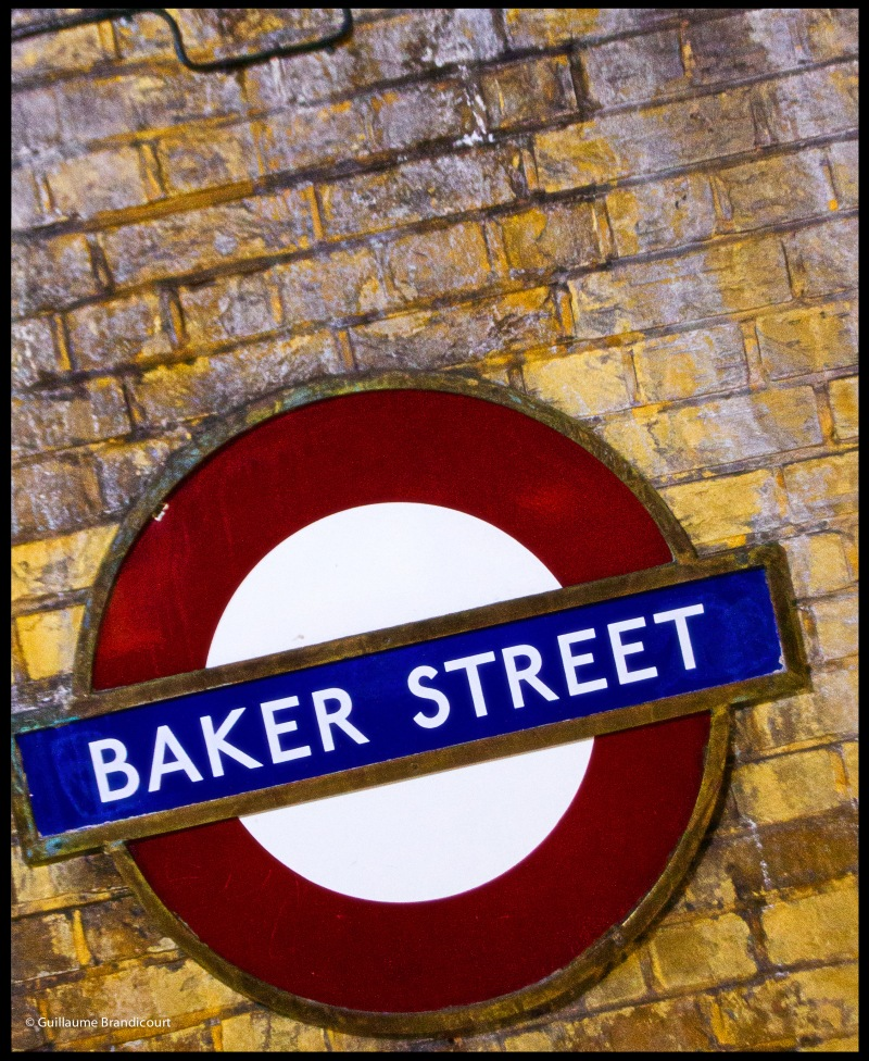 London, Baker Street Station, september 1st, 2013
