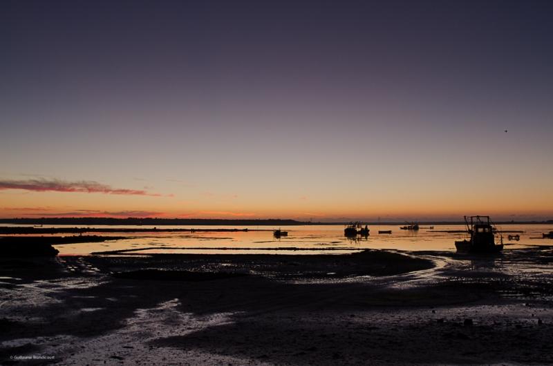 Baie du Pô au couchant 7 décembre 2013