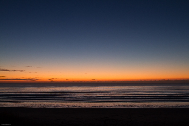 Océan - Sunset Plouharnel 7 décembre 2013