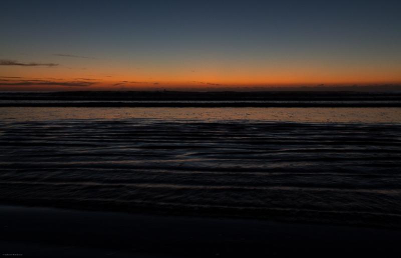 Océan, Sunset Plouharnel 7 décembre 2013
