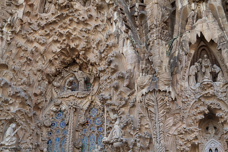 Sagrada Familia Barcelona 29 décembre 2013