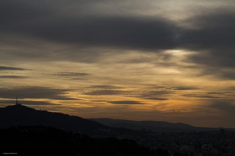 Sunset, Barcelona 30 décembre 2013