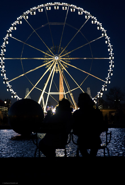 The Ferris wheel, La Concorde 3 janvier 2014
