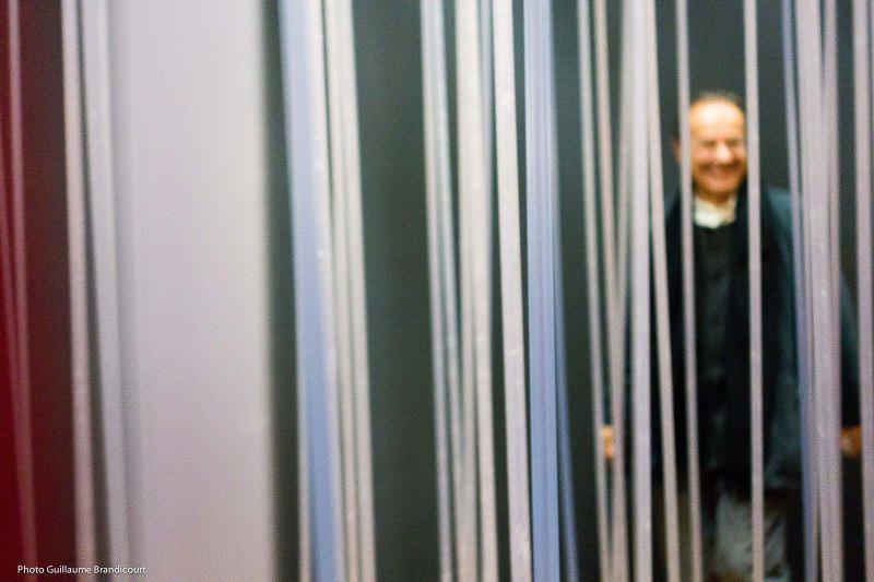 @ Soto au Centre Pompidou Cube pénétrable, 1996. Cadre aluminium laqué, tiges de résine. Dation, 2011.