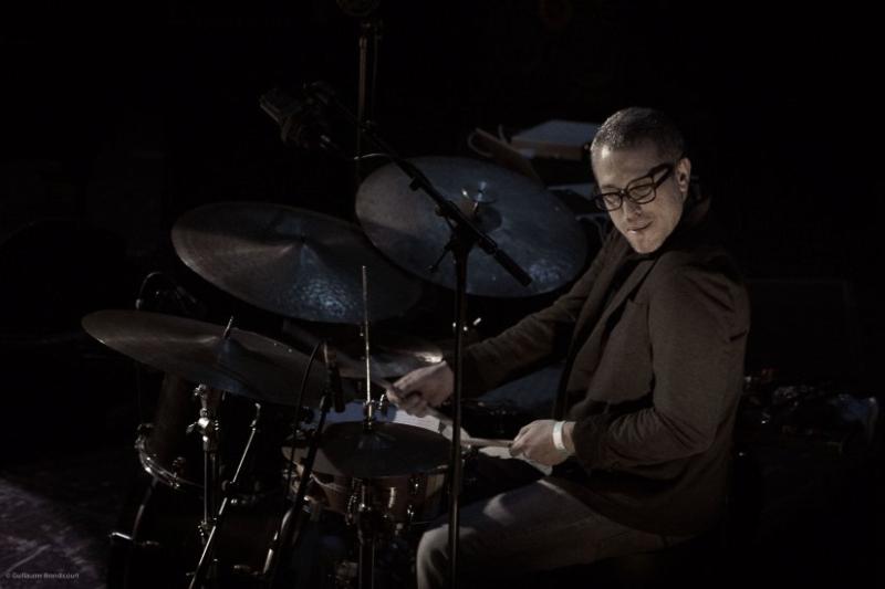 Ziv Ravitz @Yaron Herman Quartet Live @Le Trianon 13 octobre 2013 (c) GB