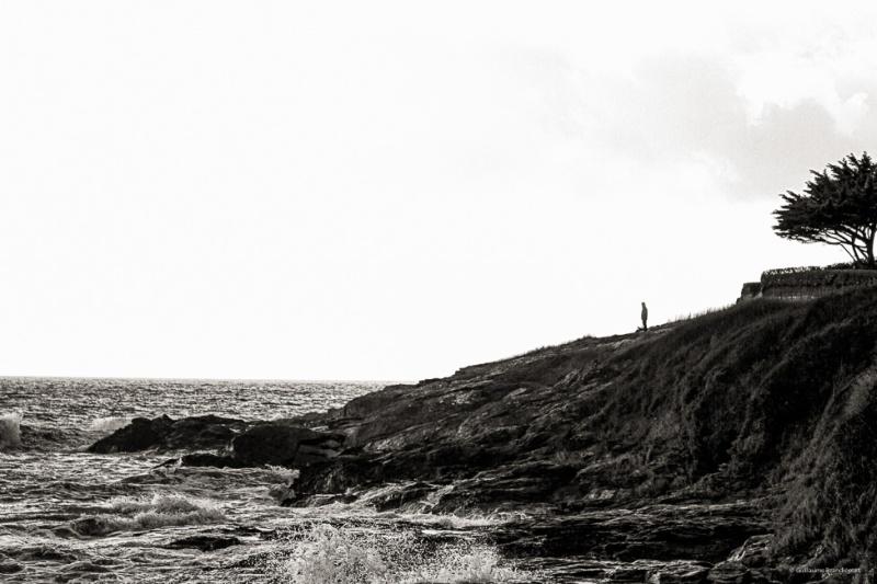 Le promeneur de Saint Gildas de Rhuys - II Morbihan février 2014