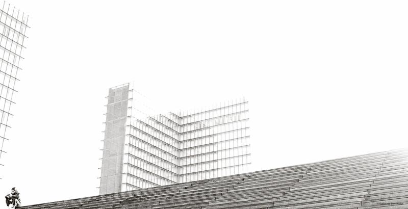 Bibliothèque Nationale de France - BNF Paris février 2014
