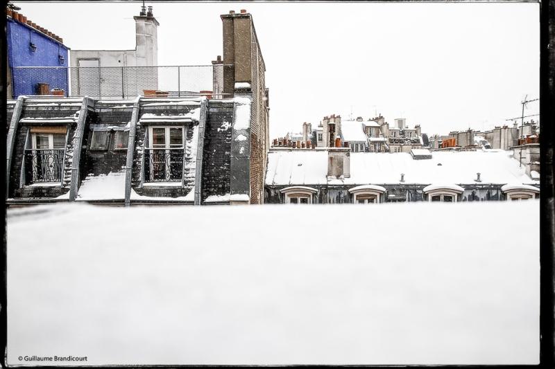 Toits sous la neige, 12 mars 2013