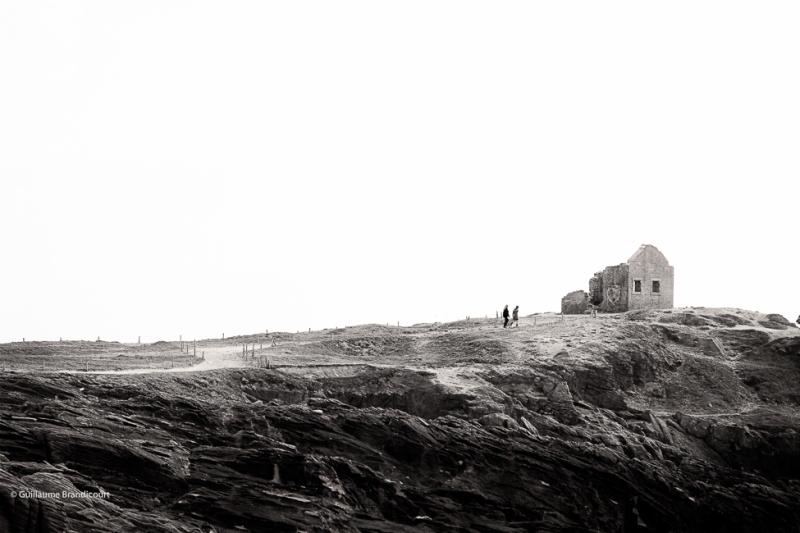 Côte sauvage - Presqu'île de Quiberon  - Ruines des douaniers 20 avril 2014