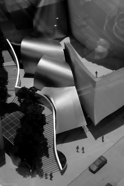 Maquette Frank Gehry @Centre Pompidou Photo GB