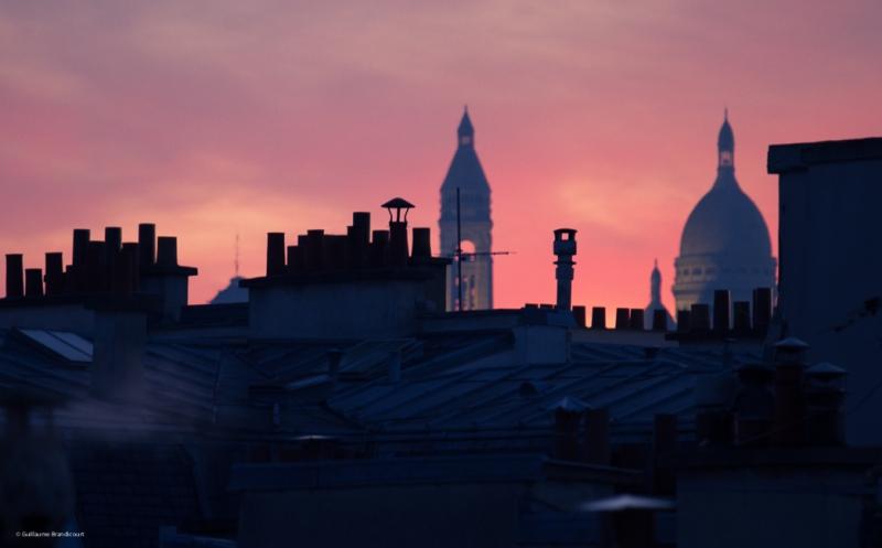 Féérie matinale - Paris Lever de soleil 7 février 2015