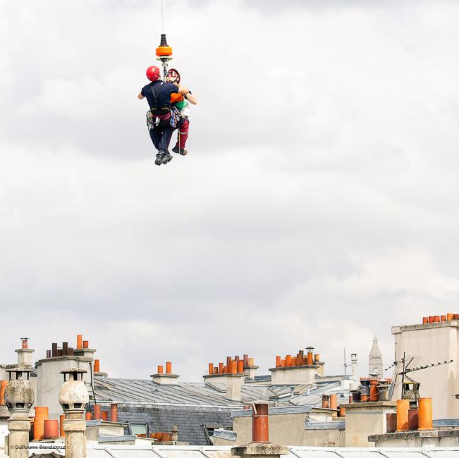 Le sauvetage Paris - 25 mai 2015 (c) GB